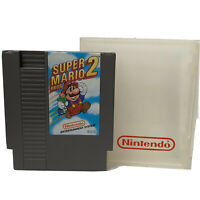 Vintage Nintendo Super Mario Bros  2 Video NES Game Cartridge