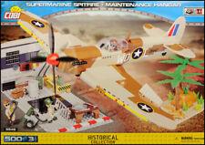 COBI USAAF Spitfire Mk.IX - Maintenance hangar (5546) - 500 elem. - WWII scene