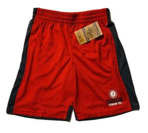 NEW NCAA Alabama Crimson Tide Boys Red Basketball/Gym Logo SHORTS Sz M (8/10)