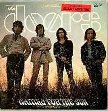 "THE DOORS ""Waiting For The Sun"" Vinyl LP - Monarch Press 1968 Elektra- VG++/ VG+"