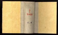 LE SAINT MAGAZINE  RELIURE TOME 1-6   SIMENON-KENNY-CHESTERTON-AGATHA CHRISTIE