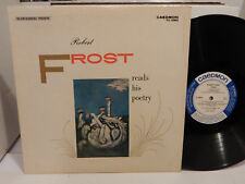 ROBERT FROST Reads His Poetry Caedmon TC 1060 LP NM