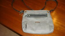 Municci Purse, Gray, Faux Leather - Shoulder or Hobo Style