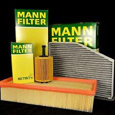 MANN FILTER SET -  VAG Inspektionskit - 1.9, 2.0 TDI - VW, AUDI, SKODA, SEAT