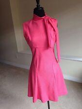 Vintage Pink Scooter Sheath Style Dress 1970