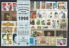 RUSSIA 1998 COMMEMORATIVE YEAR SET MNH (see two scans)