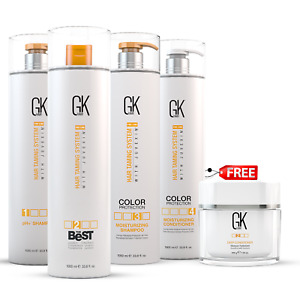 GK Hair The Best Hair Smoothing and Straightening Keratin Treatment Kit 1000ml