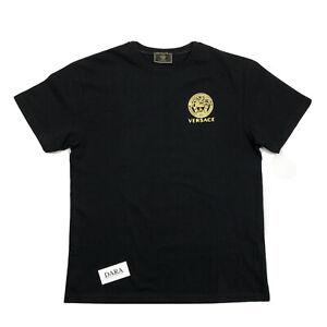 VERSACE GIANI VERSACE BLACK T-SHIRT SIZE: XL