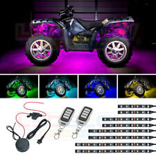 LEDGlow 8pc Advanced Million Color ATV Quad UTV Waterproof Accent Light LED Kit