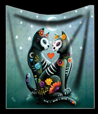 Kuscheldecke mit Katzen - Starry Night - Nemesis Now Kätzchen weiche Wohndecke