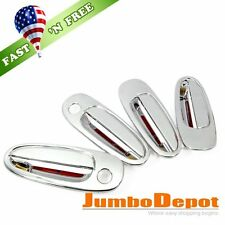 US Triple Chrome Side Door Handle Cover Trim Fit Toyota Corolla E100 1993-1997