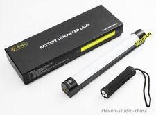 1FT Battery LED Linear Tube Ice Light Bi-Color 10W Megnetic Mount video TV film