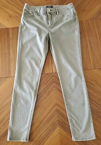 Chicos So Slimming Lifting Stretch Ankle Jeans Size 0.5  Gray Denim 29 Inseam