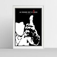 Illustraquotes - LA HAINE (L'Odio_Pistola) - Poster Giclée Print (firmata)