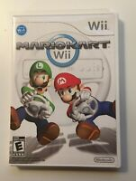 Mario Kart (Nintendo Wii 2008) - CIB - CASE, GAME, MANUAL AND ALL INSERTS