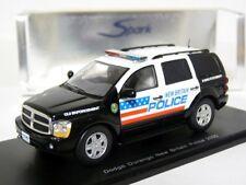 Spark S0864 1/43 2004 Dodge Durango Police New Britain Resin Model Car