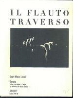 Jean-Marie Leclair ~ Sonate G-Dur für Querflöte und Basso continuo