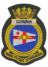 Commodore, Naval Aviation COMNA Fleet Air Arm FAA Crest MOD Embroidered Patch