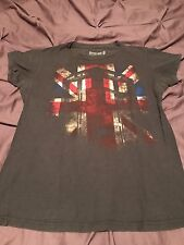 NEW Women's Grey Police Tshirt Size Large