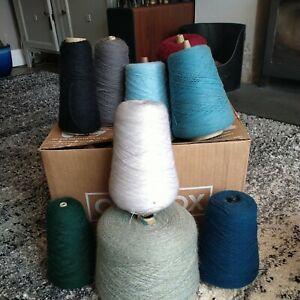 Machine Knitting Wool Bundle