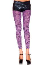 Nylon Animal Print Footless Hosiery & Socks for Women