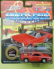#4 RED 70 DODGE CORONET SUPER BEE SCAT PACK BOYS 1970 1995 JOHNNY LIGHTNING JL