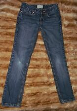 Women's / Junior's Aeropostale Bayla Skinny Denin Blue Jeans Size 00 Reg Nice