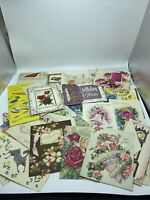 Unused Greeting Cards Various Holidays Vintage Collectibles Envelopes Cards