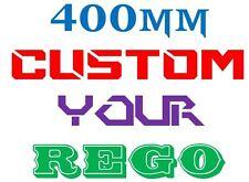 Custom Boat Rego Number Sticker JetSki Seadoo Kawasaki Haines Sea-ray Yamaha