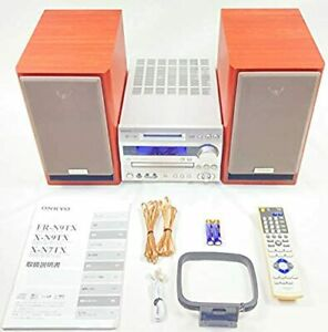 ONKYO FR series X-N7TX(D) CD/MD Component System Components speaker