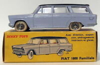 Vintage Dinky 548 - Fiat 1800 Familiale - Blue Black