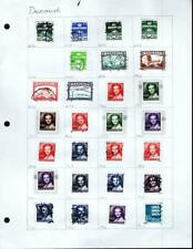 1¢ WONDER'S ~ DENMARK MINT & USED SMALL LOT ALL SHOWN ~ G997