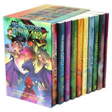 The Sisters Grimm: 10 Book Box Set by Michael Buckley,New,Free Shipping!!!