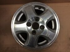 1996 Civic HB Aluminum Alloy Wheel Rim 13x5J 5 Spoke Used OEM