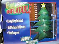 8' Gemmy Airblown  ChrIstmas Tree Inflatable Yard Decoration