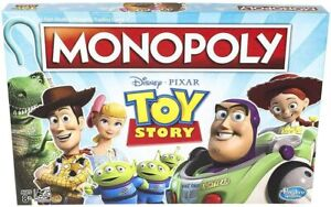 Monopoly Diseny Pixar Toy Story Board Game Family and Kids Game Ages 8+