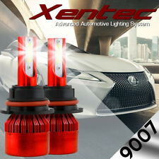 XENTEC LED HID Headlight kit 9007 HB5 White for Nissan Versa Note 2014-2016