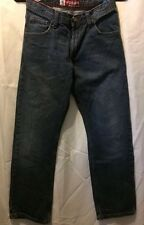 Lee Women's Dungarees slim straight leg jeans size 16 Regular