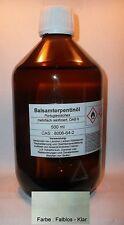 500 ml portugiesisches baume huile de Térébenthine DAB 9, incolore, plusieurs