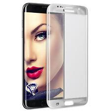 Templado Proteción de Cristal 3D para Samsung Galaxy S7 Edge G935 - plata