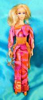 Vintage! LIVE ACTION BARBIE DOLL  w Original Outfit Mod Barbie Mattel 1971