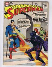 Superman 124 (G) DC Comics 1958 Silver Age Black Knight's Super Sword (c#17124)