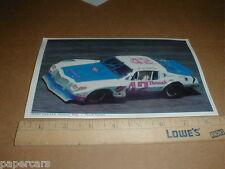Jerry Makara 1977 Chevy Camaro Daytona Nascar rare racing photo postcard Handout