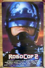 Vintage Robocop 2 Double-Sided Movie Poster Original