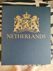 1960 Minkus Stamp Album for Netherland stamp collectors.