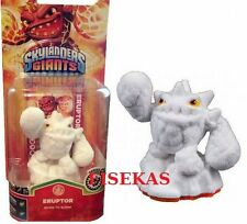 Skylanders Giants White Snow Flocked Eruptor Figure Variant Rare 2013 NEW