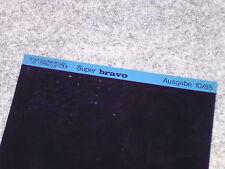 Microfich Katalog Ersatzteilliste Piaggio Vespa Super Bravo Mofa EEM3T 1985