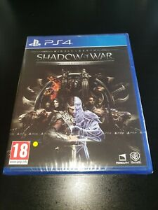 Middle Earth Shadow of War Silver Edition PS4 Game, New & Sealed, 1st Post