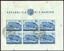 Francobolli di San Marino usati