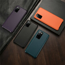 For Samsung S20 Ultra Leather Effect Protective Shockproof Soft Back Case Cover